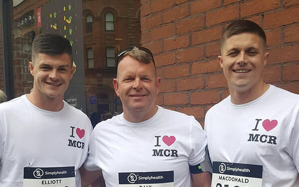 Supporting the Great Manchester Run