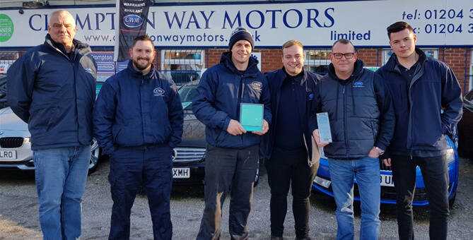 Crompton Way Motors Limited - The Team