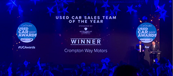 Bolton independent car sales company wins national award